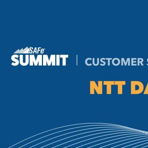 NTT DATA Transforms Organizational Culture and Improves Business Agility with SAFe