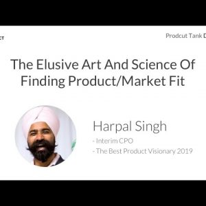 ProductTank Dubai - How to find Product Market Fit (with Harpal Singh)