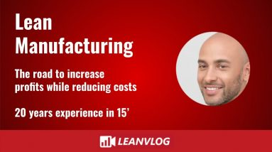 Lean Manufacturing - The road to increase profits while reducing costs