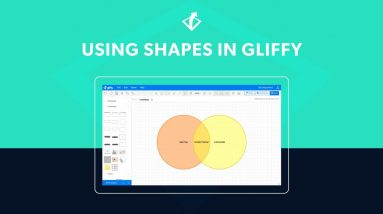 Using Shapes in Gliffy