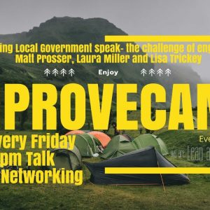 Improvecamp #5 - Translating local government speak - The challenge of engagement
