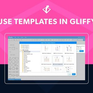 How to Create a Diagram from a Template in Gliffy