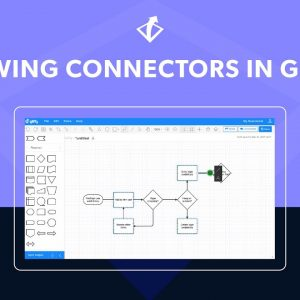 Tips for Drawing Lines & Connectors in Gliffy
