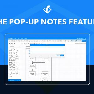 Try Gliffy's Pop Up Notes Feature