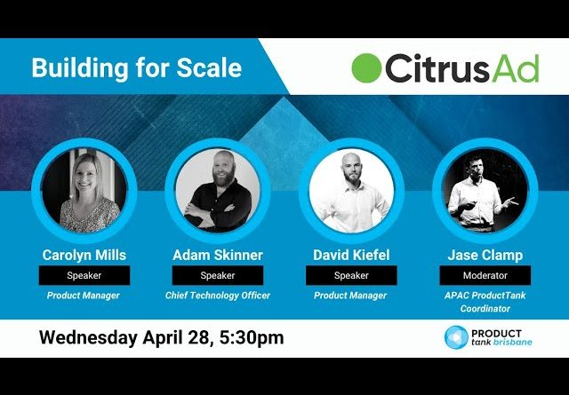 ProductTank Brisbane: CitrusAd