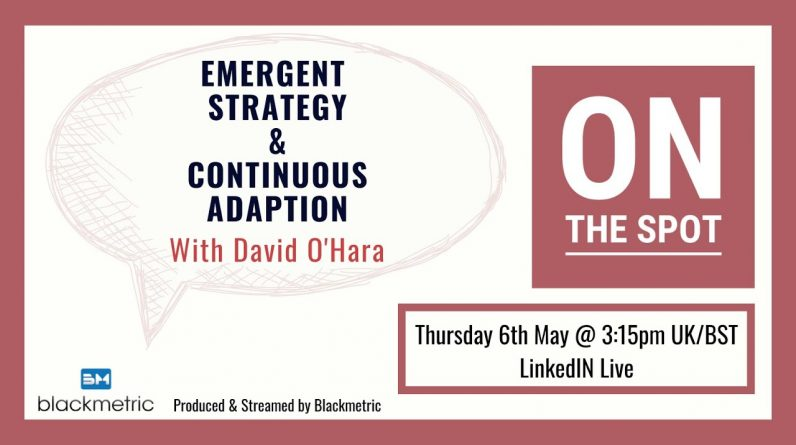 OTS11   Emergent Strategy and Continuous Adaptation with David OHara