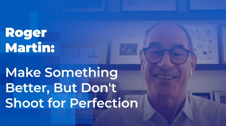 Why You Should Make Something Better, But Don't Shoot For Perfection: A Clip From WLEI