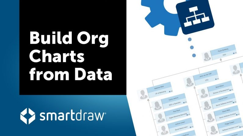 Build Organizational Charts from Data with SmartDraw's Org Chart Extension