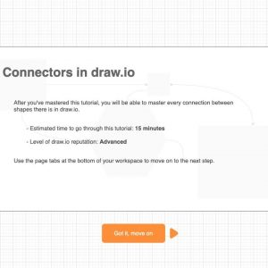 Use interactive tutorials to learn draw.io for Confluence fast