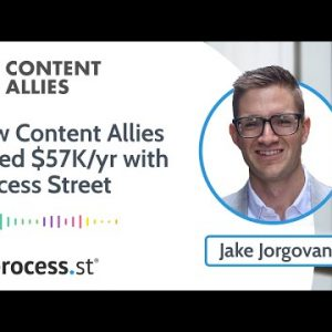 How Content Allies Saves $5000 a Month Using Process Street To Manage Their Core Operations