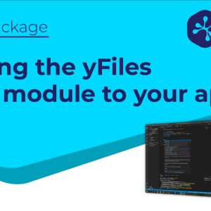 Integrating yFiles for HTML into an existing app