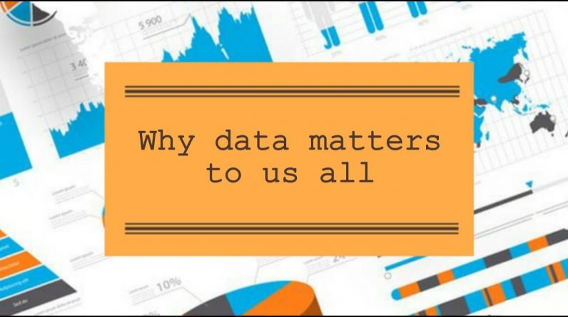 Lets Talk: Why data matters to us all