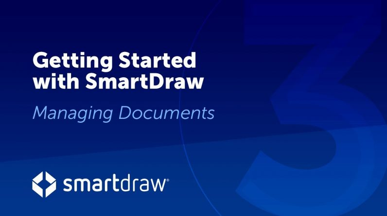 Getting Started Part 3: Managing Documents