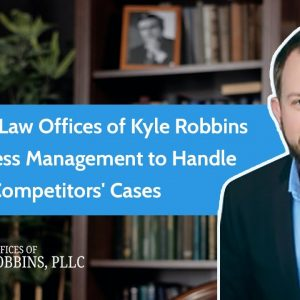 How The Law Offices of Kyle Robbins Use Process Management to Handle 2x Their Competitors' Cases